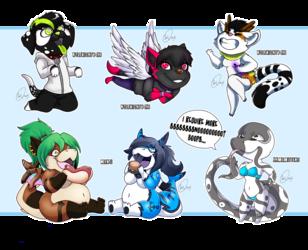 Chibi Compilation 4 (wolfnightv4x1 manji ladyblackcobra)