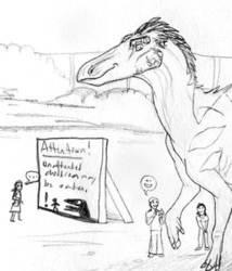 Spoder-Dino Attraction :3