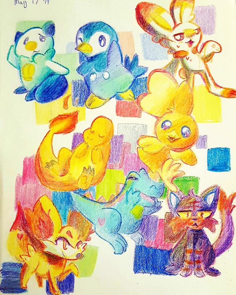 My Pokemon Starters