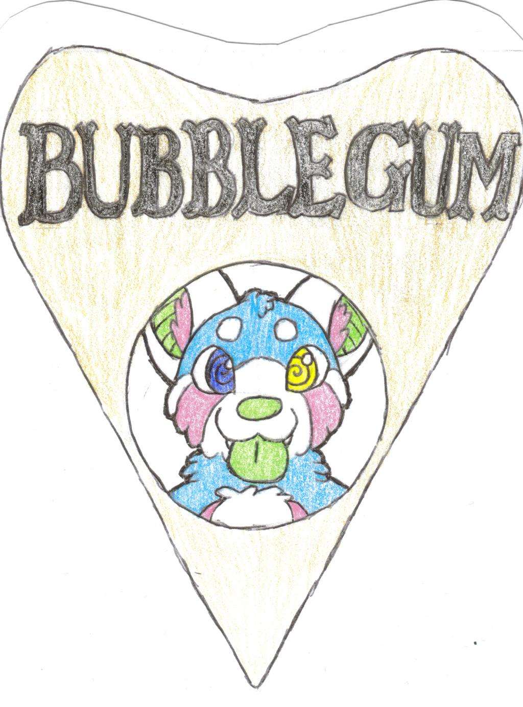 Bubblegum Ouija Planchette