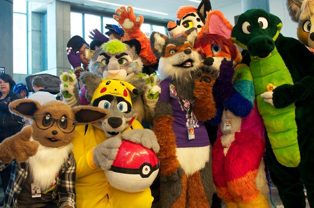 Furry Meetup 3 @ Fanime 2014