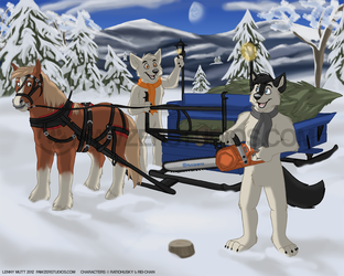 Merry Christmas From Wolftail and Rei