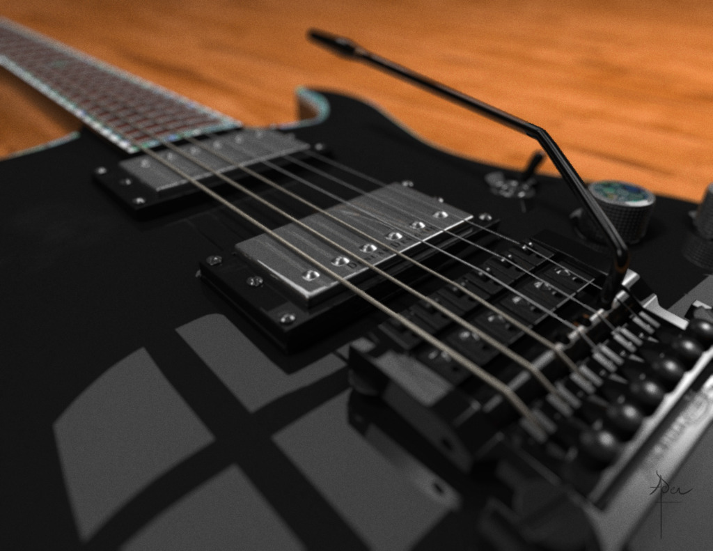 Featured image: Mine Guitar 2