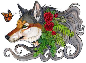 Plant spirit commission - Luthiennightwolf