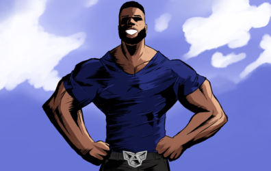 Blaine Hodge - real All Might