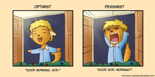 Optimist - Pessimist