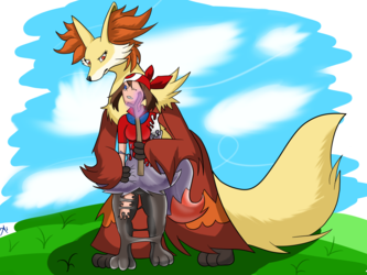 Outphoxed [Rubber Braixen TF]