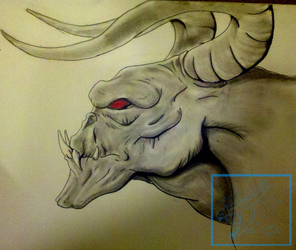 DeathClaw in CHARCOAL!