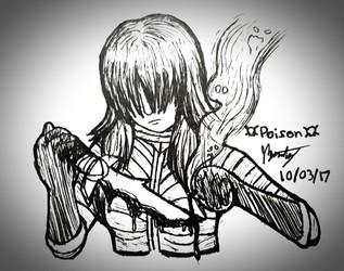 """Inktober 2017 - Day 3 """"Poison"""""""
