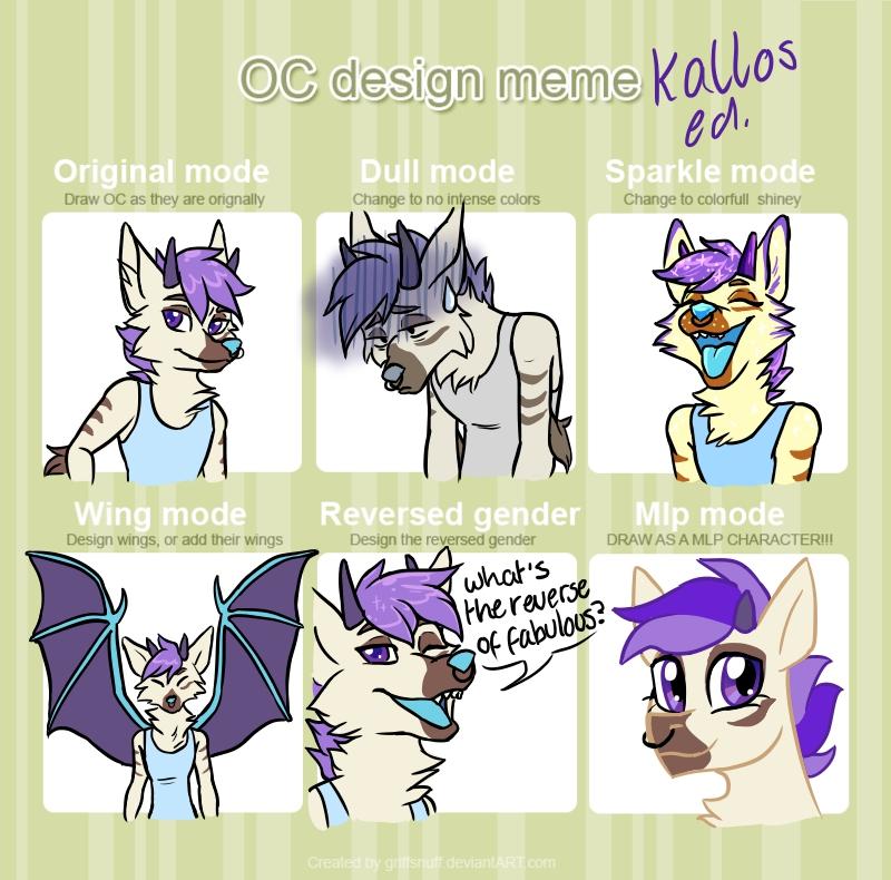 Most recent image: Kallos design meme