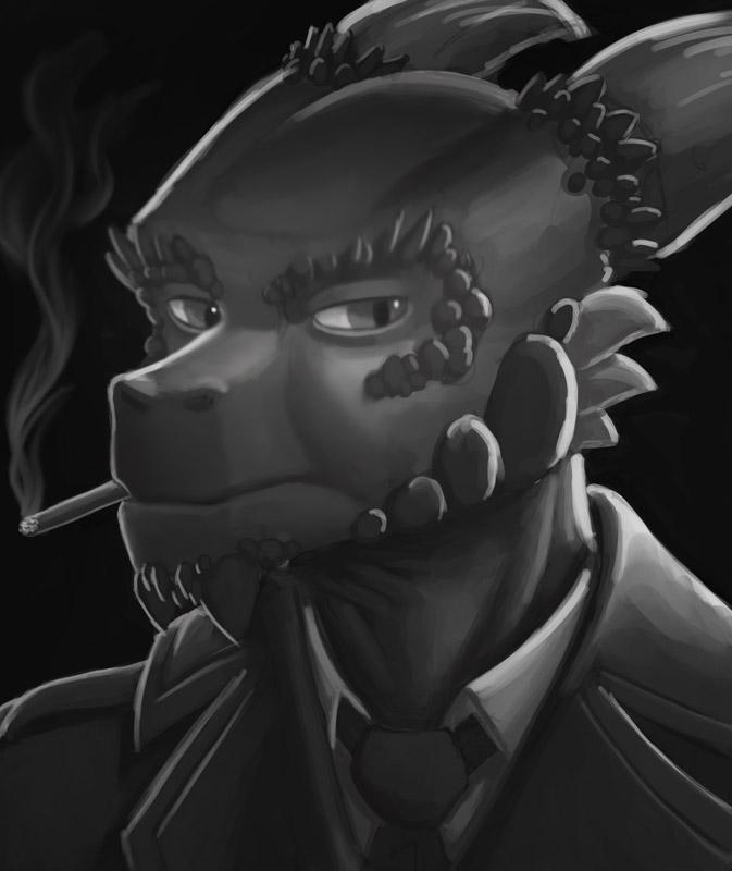 Noir portrait test