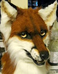Koryak Fox mask!