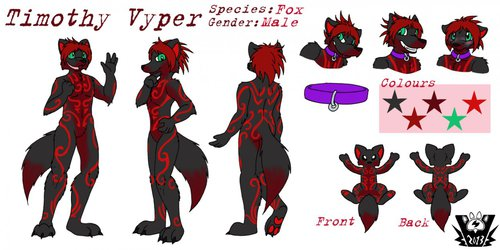 Timothy Viper Reference Sheet