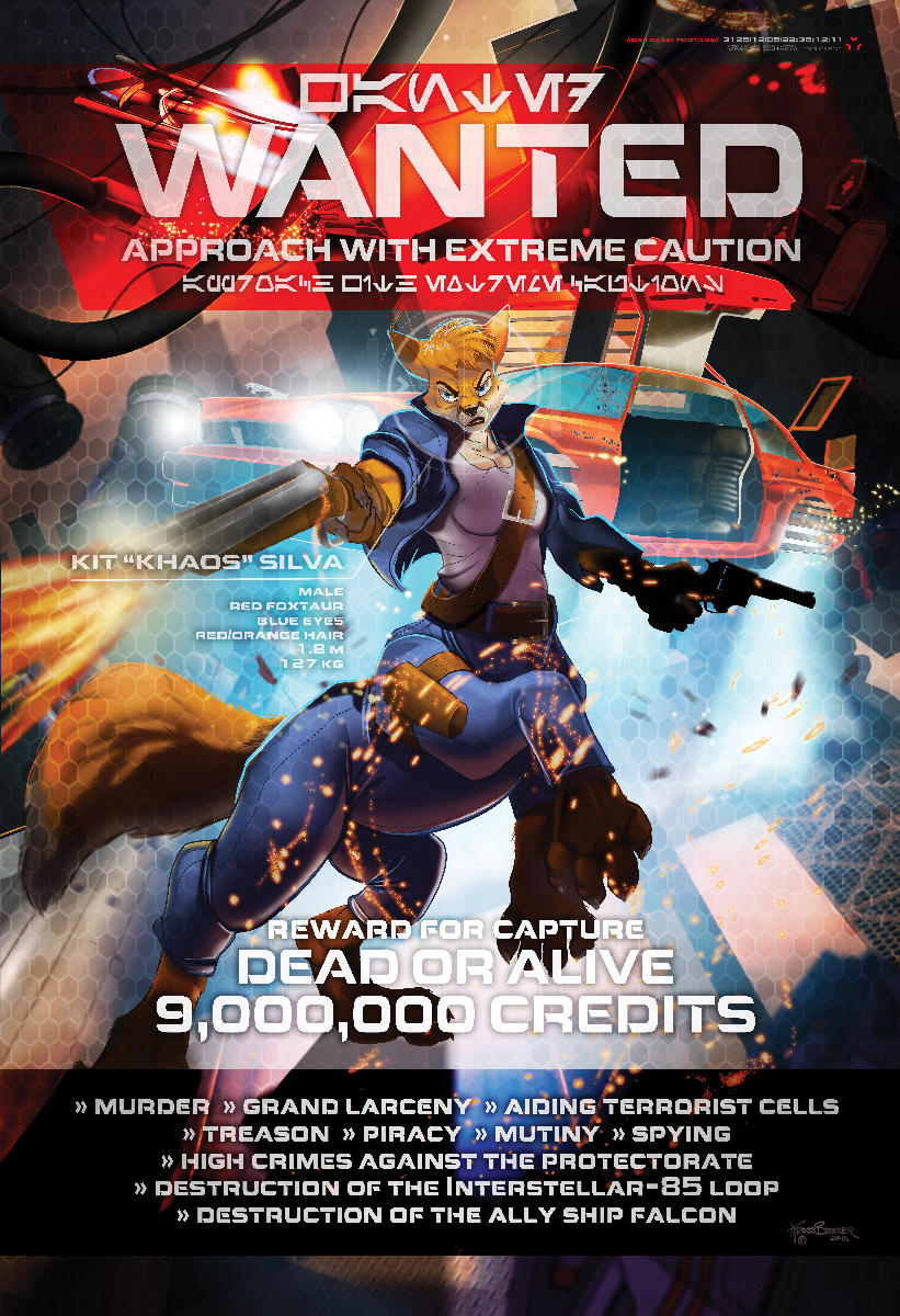 Most recent image: Galactic Gunslingers FWA 2018 Poster