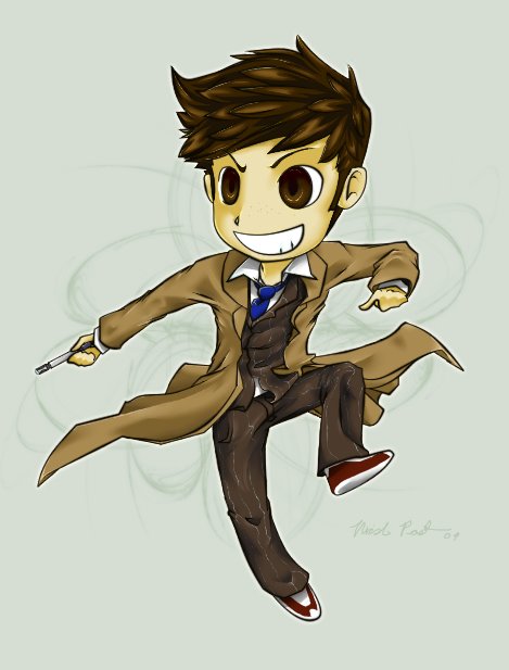 ChibiCom Example- 10th Doctor