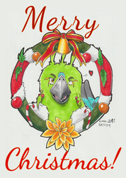 Example of Christmas card