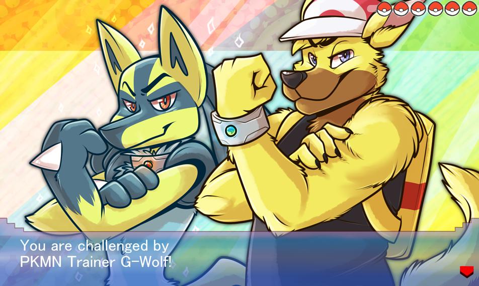 [commission] Pokemon Challenger: G-Wolf