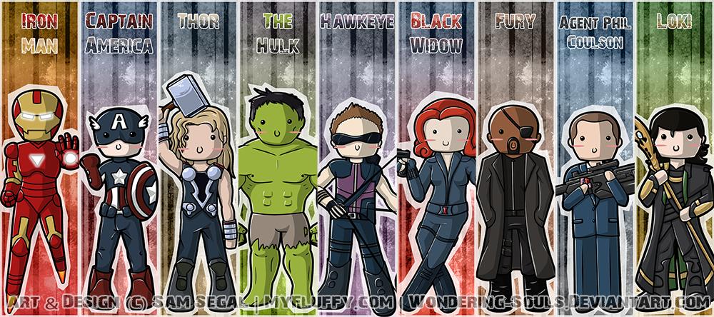 Avengers: Bookmarks Assembled