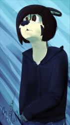 Blue Emo
