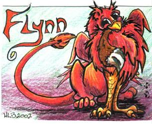 Flynn Firewing Badge