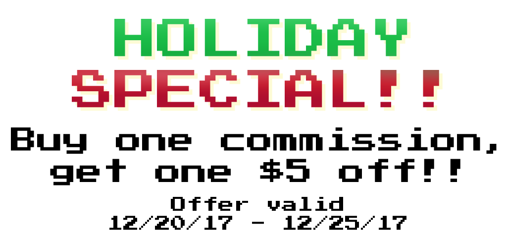 Holiday Special (OPEN)