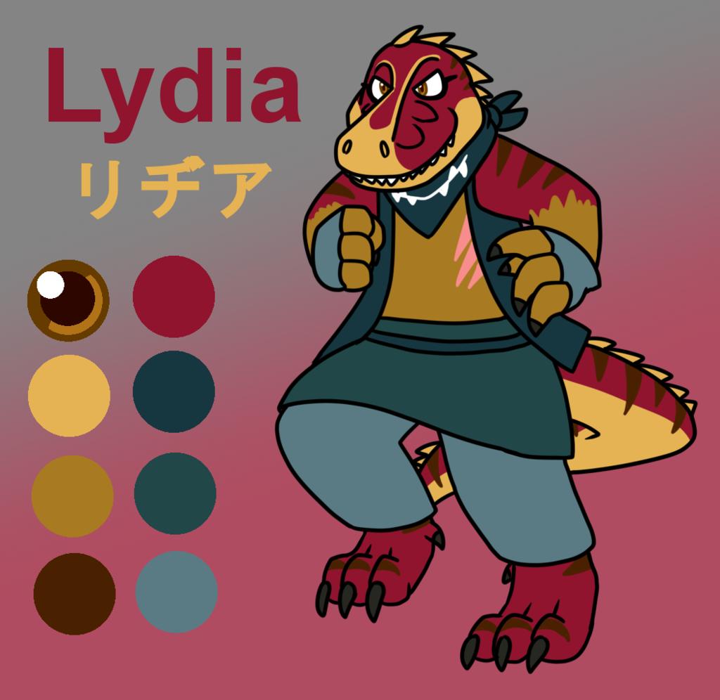 Lydia Refence Sheet
