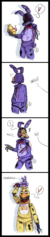 Bonnie's New Friend