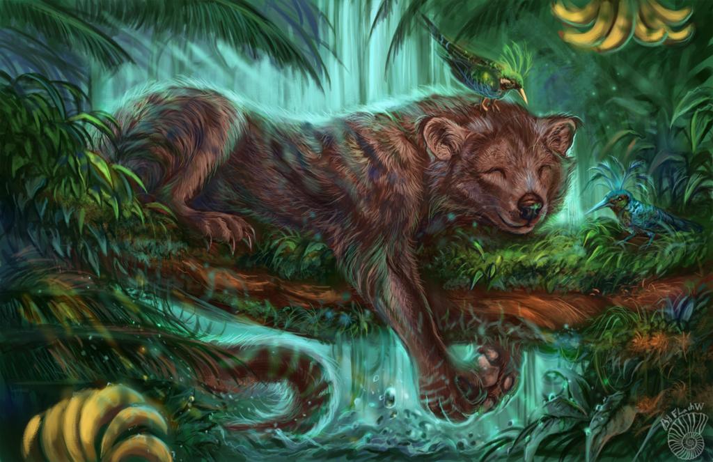 Jungle sleep