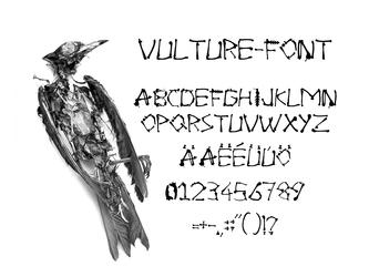 Vulture-Font COMPLETE