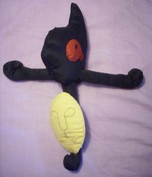 "Handmade Yamask plushie ""Latista"""