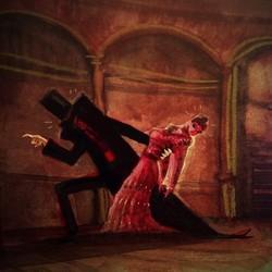 Bloody dancer