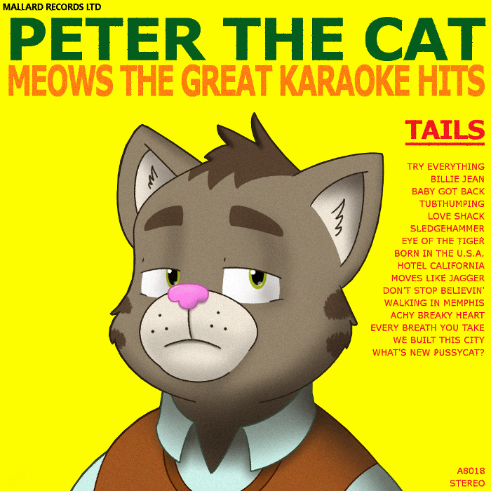 Peter's karaoke album