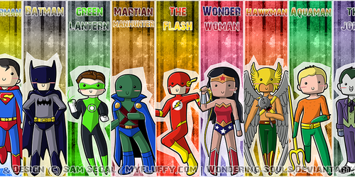 Justice League: Bookmarks