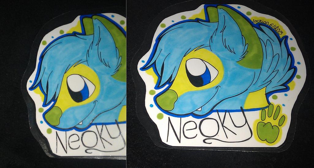 Headshot con badge for Neoky