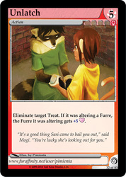 [FUROTICON] Get bailed out of trouble with Unlatch! New card preview!
