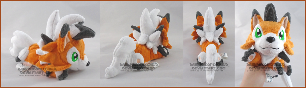 Most recent image: SOLD Dusk Lycanroc beanie