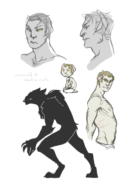 Yet to be named werewolf oc