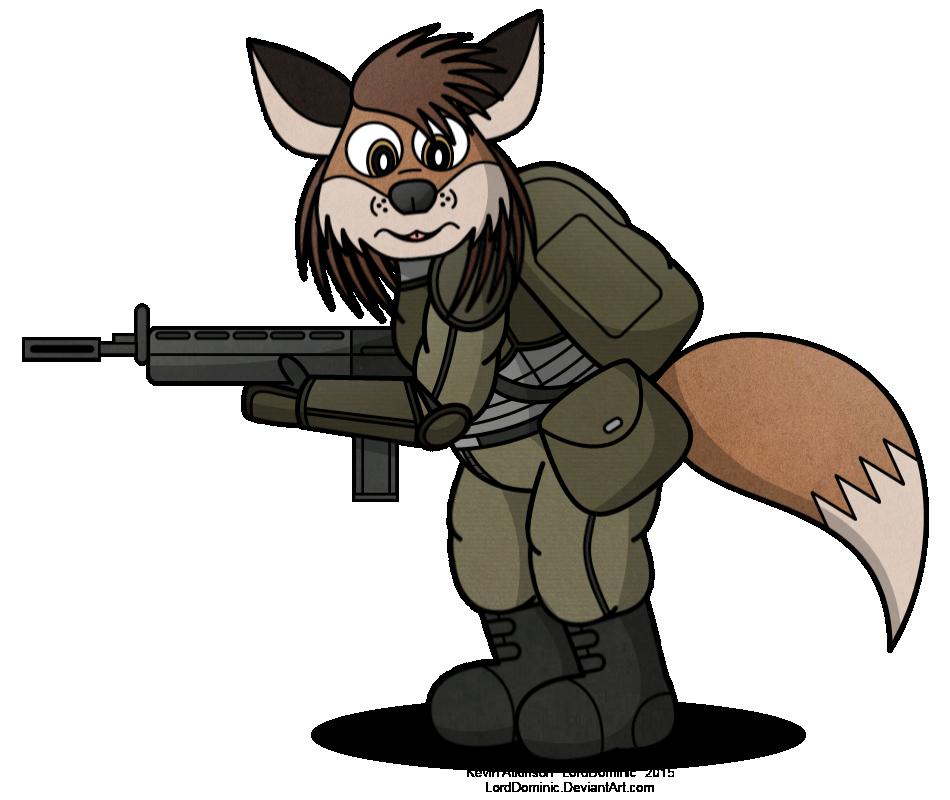 Farley in Battle Gear (2015)