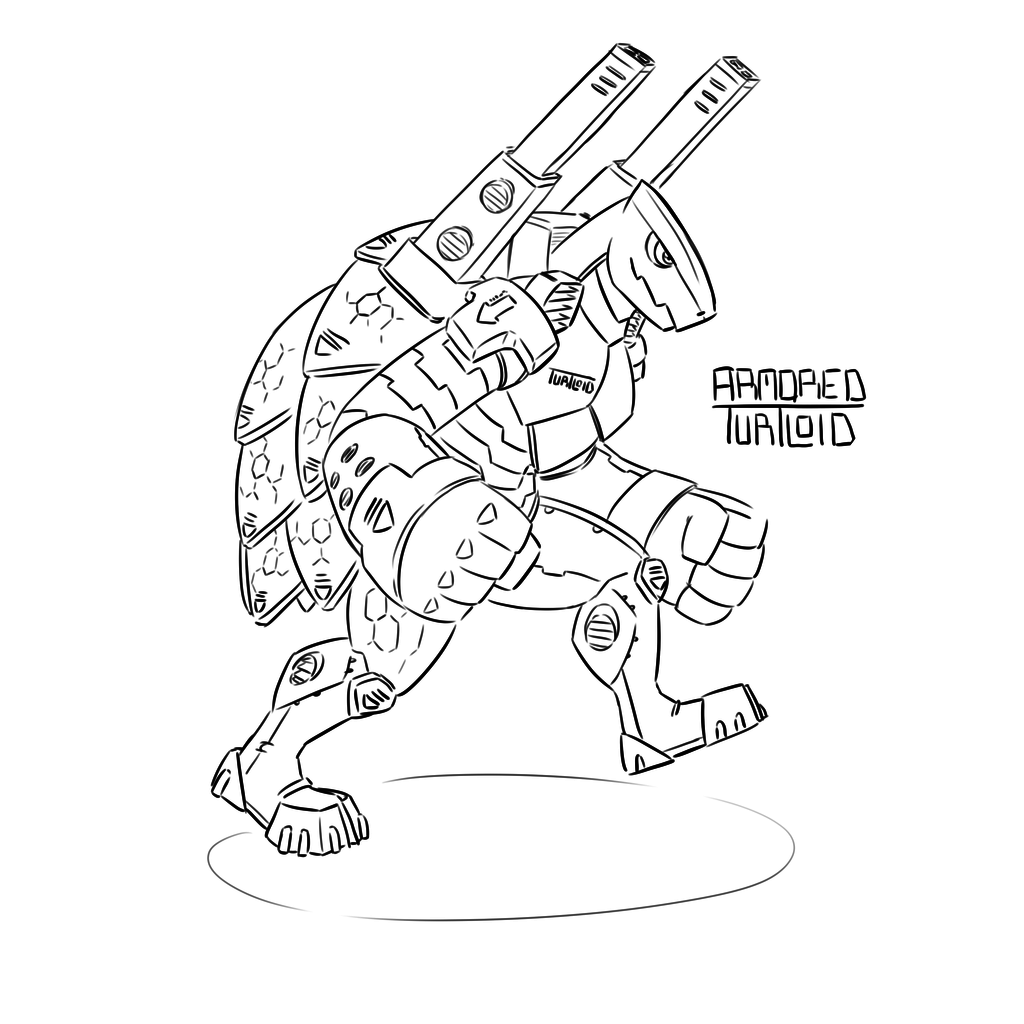 Armored Turtloid (Echo 6)