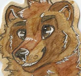 Coffee Badge Commission: Tanuki