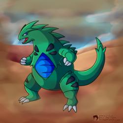 #248 - The Armor Pokemon - Tyranitar
