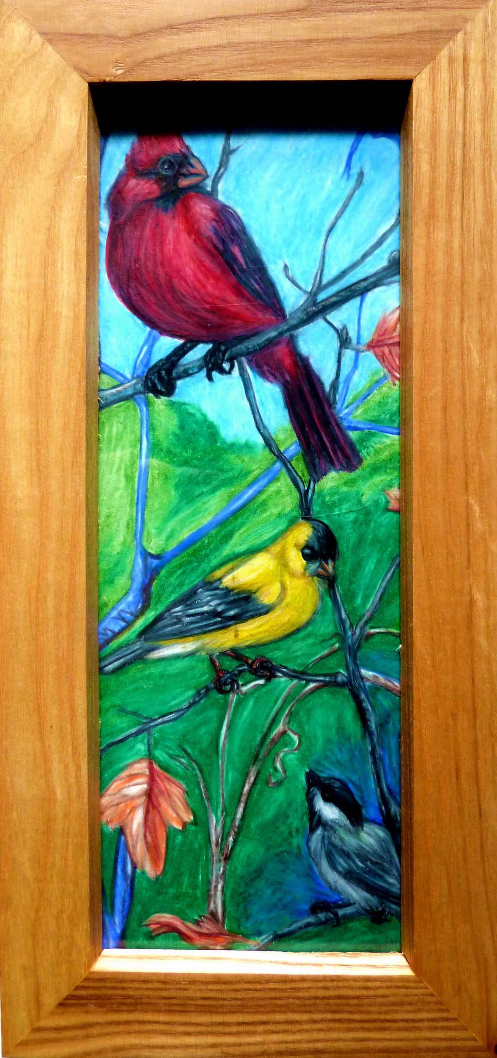 Songbird Chorus--Framed