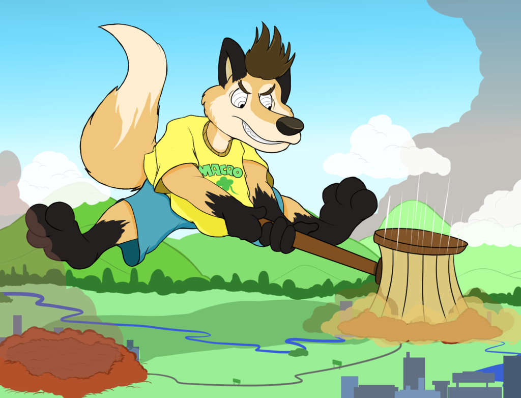 Most recent image: Macro March: Mallet Time!