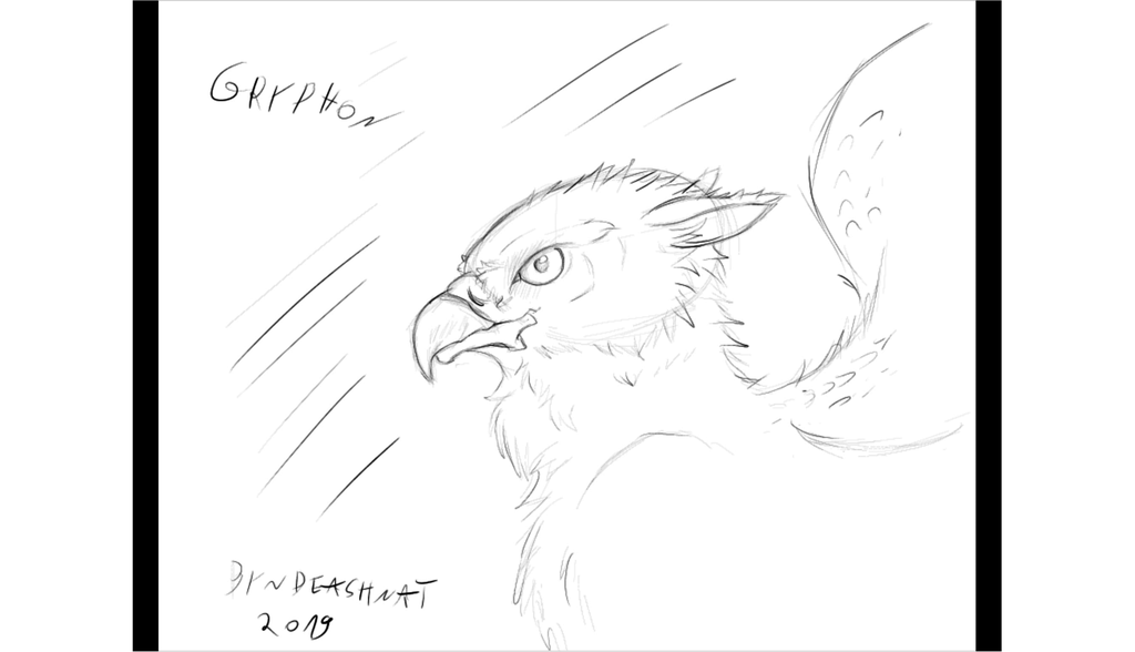 Gryphon croquis