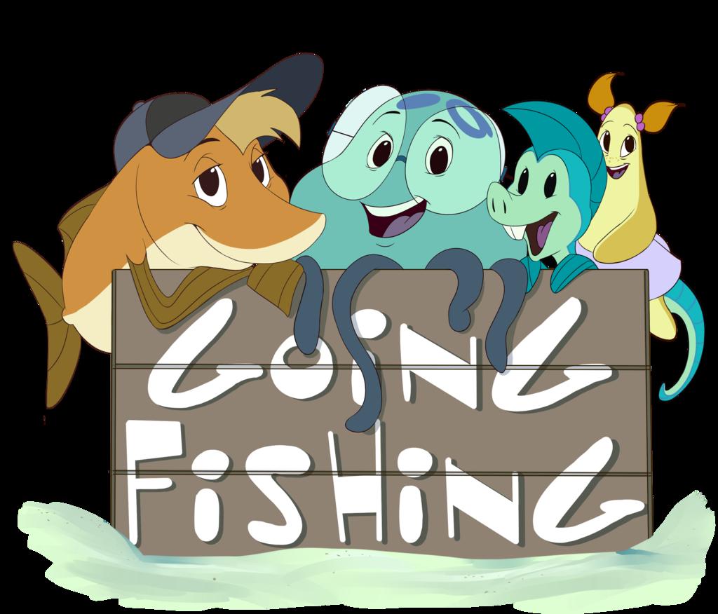 Going Fishing (Shirt Design)