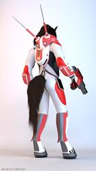 Zho, Space Engineer (rear)