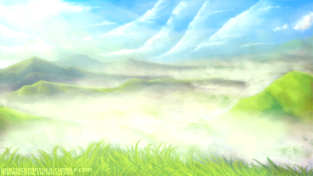 Misty Valley Speed Painting