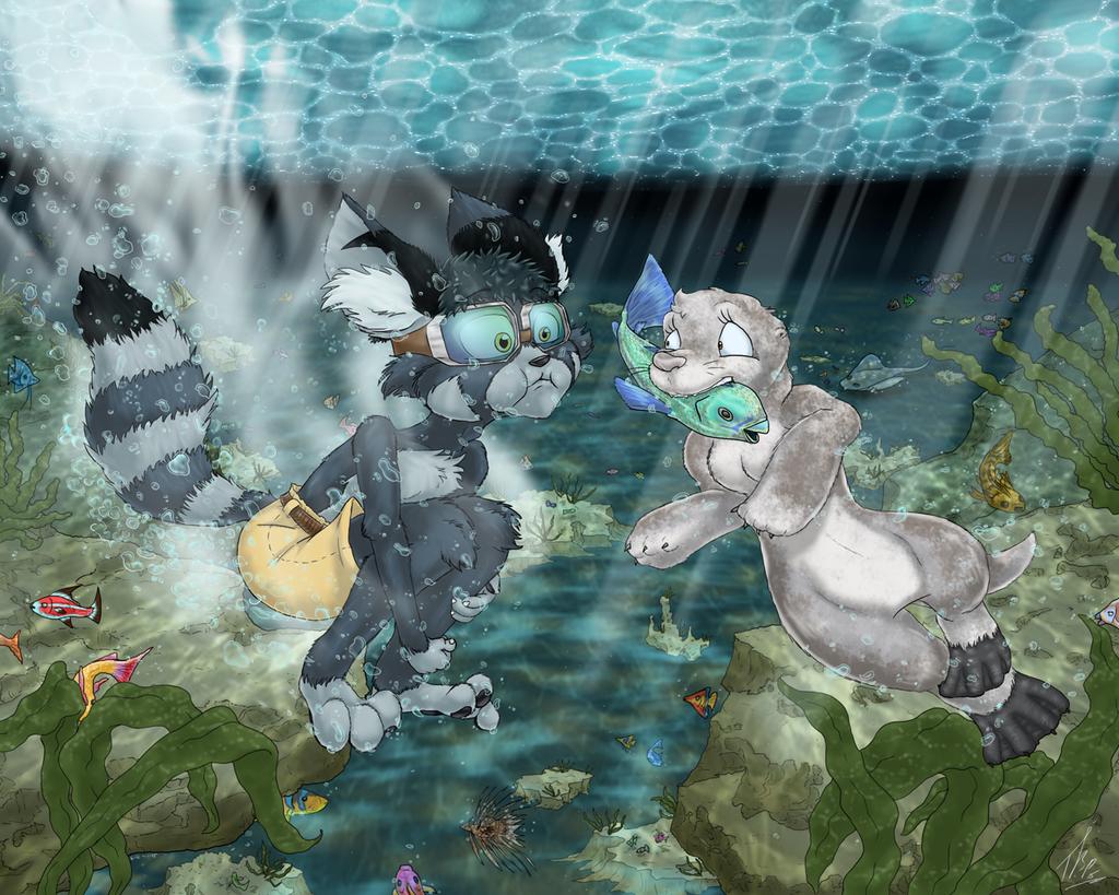 Dante Underwater