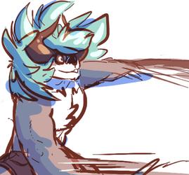 demon scribble
