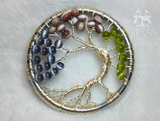 Seasons - Wire Tree
